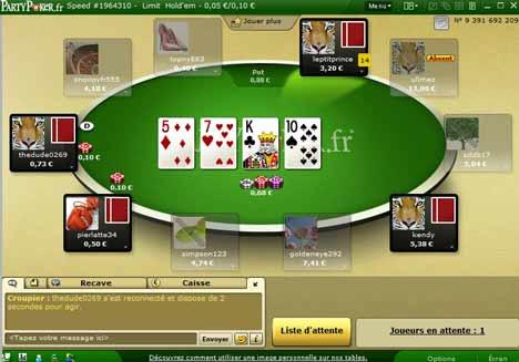 Site poker europeen scatter slots facebook